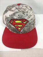 Superman Hat Cap Adjustable