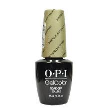 Opi Soak Off Gelcolor Polish Lacquer GC V38 Baroque... But Stukk Shopping! 0.5oz