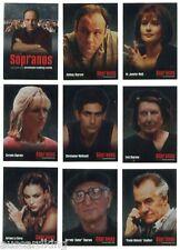 The Sopranos - Mafia - Complete Trading Card Set (72) - Inkworks 2005 - NM
