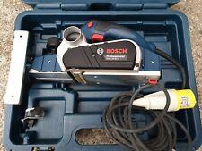 Bosch GHO 26-82 D Planer, 110v Corded, wood work joiner carpenter tool, in case.