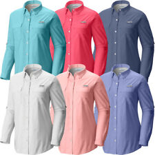"New Womens Columbia PFG ""Bonehead"" Long Sleeve Fhising Shirt XS-S-M-L-XL"