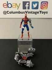 VINTAGE Spider-Wars Cyborg Spider-Man Action Figure 1996 ToyBiz Marvel w/Armor