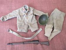 Gi Joe Vintage Japanese Uniform Hasbro Hong Kong w/ Rifle