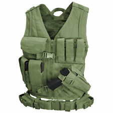 Condor Crossdraw Tactical Vest Medium/Large Olive Drab CV-001