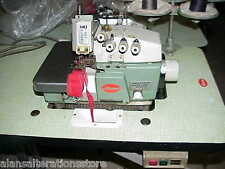 INDUSTRIAL WILLCOX & GIBBS SEWING OVERLOCKER 5 THREAD OVERLOCKER