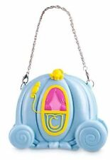 NEW Disney Store Princess CINDERELLA CARRIAGE PURSE Horse Coach Blue Girls NWT!