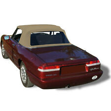Alfa Romeo Spider Graduate Veloce Convertible Soft Top TAN Pinpoint Vinyl