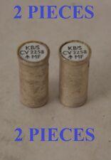Diodo Semi conductor de microondas CV2258 Hecho en Reino Unido tubo de la válvula de 2 piezas