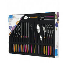 Amefa UK Eclat Spice Cutlery Serving Set Soft Colors Pack of 24