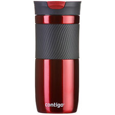 Contigo Byron Bebidas Botella-adecuado tanto para bebidas calientes y frías (470 Ml) - Rojo