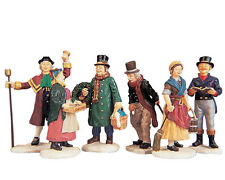 Lemax Village People (674), Village People Figurines, Set/6, Weihnachtsdorf,