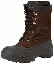 Kamik Men's Nationplus Snow Boot,Dark Brown,8 M US