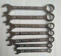 Craftsman Midget Ignition Wrench Set of 7