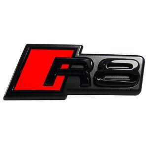 ORIGINAL Audi Schriftzug Emblem Logo R8 Kühlergrill R8 4S0853737G T94