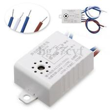 AC Auto Sound Voice Sensor Intelligent LED Light Switch Delay Time Photo Control