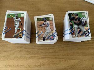 2021 Topps Series 1 Baseball Single Base Cards 111 to 220 - buy 3 get 5 free!