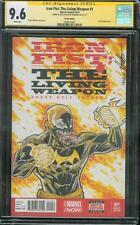 Iron Fist Living Weapon 1 CGC 9.6 SS Original art Venom Sketch Variant no 8