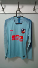 CAMISETA SHIRT ATLETICO MADRID PLAYER ISSUE MATCH UN WORN 18/19 M + FREE SCARF