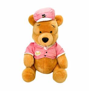 Vintage Winnie the Pooh Disney Store Stuffed Plush Toy