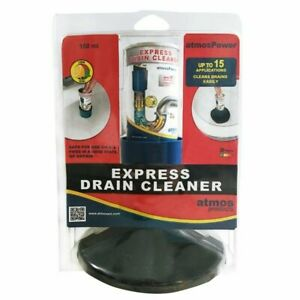Express Drain Cleaner Kit, 150ml, By Atmos For Instant Removal Of Blockages