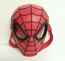 Hasbro 2010 Red Spider Man Hero Mask with Strap Halloween Party Costume