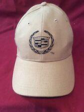 Men's Strap Back Beige Cadillac Baseball Hat From Val Ward Cadillac Car & Truck