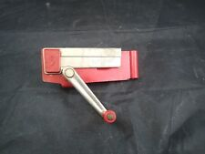 Vintage Swing Away Wall Mount Can Opener With Magnetic Lid Lift RED