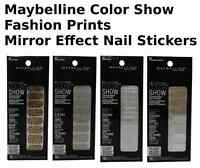 Maybelline New York Color Show Fashion Prints Nail Stickers PIC UR SHDE B2G1FREE