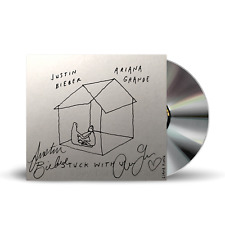 Ariana Grande Justin Bieber Signed Autographed Stuck with U CD PRE-ORDER