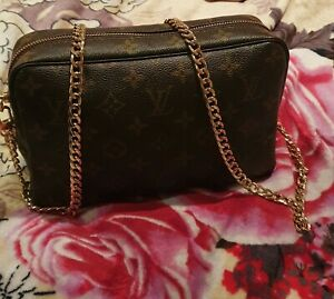 Authentic Louis Vuitton Pouch/bag With Strap crossbody