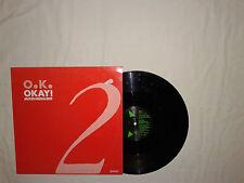 "O.K. – Okay! (Mixed Media Edit) - Disco 12"" MAXI Vinile GERMANIA 1987 DownBeat"