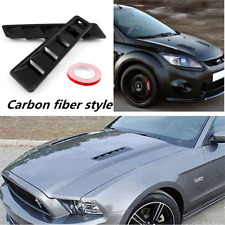 2pcs Hood Engine Vent Grill Louver Scoop Cover Trim Set Fit for all Car vehicles