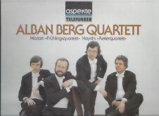 ALBAN BERG QUARTETT  Wien 1977 :  Mozart Haydn TELEFUNKEN Aspekte Vinyl