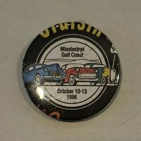 **VINTAGE** CRUISIN' the COAST Original Authentic Pinback BUTTON from 1996