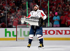 Alexander Ovechkin Alex Stanley Cup Washington Capitals Unsigned 8x10 Photo #6