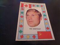1972-73 OPC Hockey Team Canada Insert - Vic Hadfield - New York Rangers