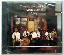 PRESERVATION HALL JAZZ BAND LIVE CD SEALED