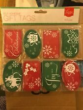 home elements 48count self adhesive Christmas gift tags