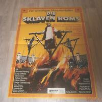 A1 Filmplakat  DIE SKLAVEN ROMS  ,RHONDA FLEMING,LANG JEFFRIES