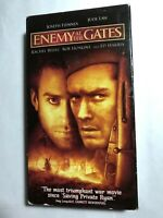 ENEMY AT THE GATES ED HARRIS, JUDE LAW, JOSEPH FIENNES VHS
