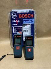 2x Bosch Blaze Glm20x 65ft Laser Measure Open Box One Witho See Description