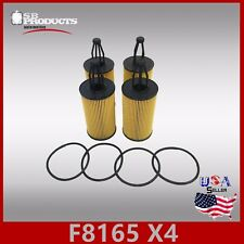 F8165(X4PCS) L38165 OIL FILTER ~ MERCEDES-BENZ GLE350 GLE400 GLE43 AMG & GLK350