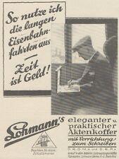 Y6860 LOHMANN'S Aktenkoffer -  Pubblicità d'epoca - 1929 Old advertising