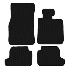 BMW 2 Series F22 2014 Onwards Black Floor Rubber Tailored Car Mat 3mm 4 Pce Set