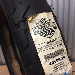 Genuine Harley-Davidson Front Tyre Michelin Commander 100/90-19 40159-10