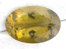 58.20 Carat Oval Brazilian Rich Color Oro De Verde Citrine Gem Gemstone EBS778
