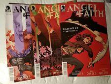 Angel and Faith Season 10 - 3 BOOK LOT!! - Dark Horse Comics #1 5 19