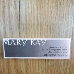 Mary Kay Gel Semi Shine Lipstick Red Smolder