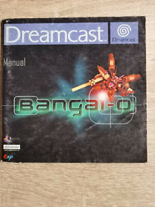 Bangai O Bangaio Bangai-O Sega Dreamcast (Manual Only)