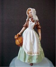 "Royal Doulton Figurine Milkmaid HN 2057  6-1/2"" tall  Mint Condition"